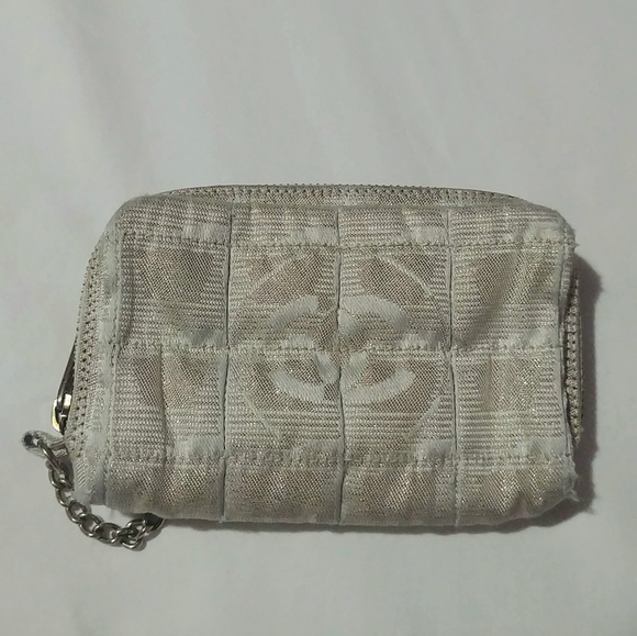CHANEL Handbags - Authentic Chanel Square Quilted Coin Purse/Pouch